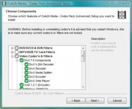 Cole2k Media Codec Pack